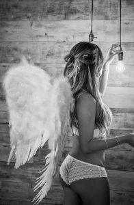 fotografía boudoir de ángel o demonio